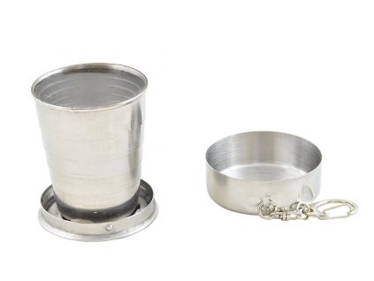 Skládací pohárek pro turisty