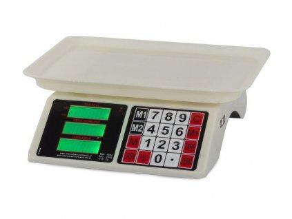 Waga kalkulacyjna gastronomiczna sklepowa 40kg LCD