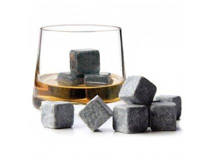 Chladící kameny Whiskey 9ks - malý box, KX8421_1
