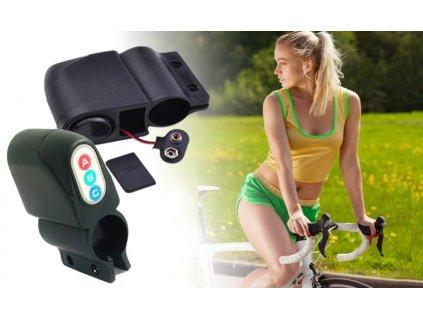 Alarm na kolo s čidlem otřesu, AG436
