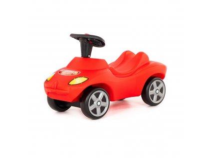 Dětské odrážedlo, vozítko Hasiči - červené, 42255
