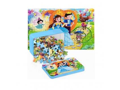 0066809 detske puzzle kralovstvi