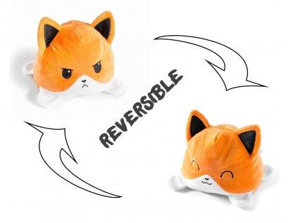eng pl Reversible plush toy dog 2812 8