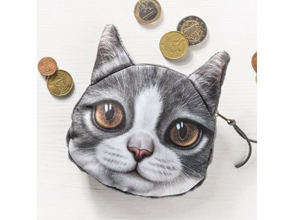 eng pl 3D Cat coin bag model 3 1652 3