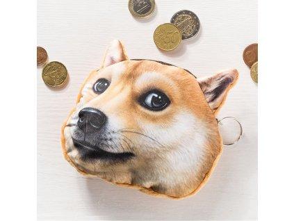 eng pl 3D Dog coin bag model 1 1647 1