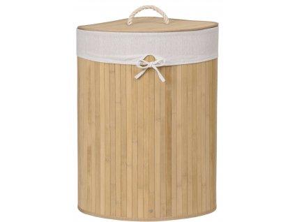 Kosz narozny na pranie bambusowy 60L naturalny