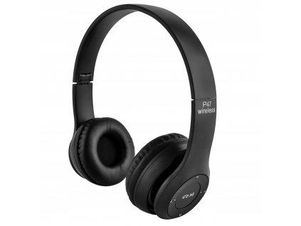 Sluchawki Bezprzewodowe Bluetooth Mikrofon FM MP3 Waga produktu z opakowaniem jednostkowym 0 21 kg