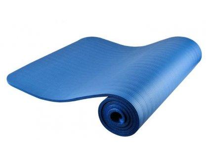 Fitness podložka na cvičení 181 x 62 cm - modrá, 7864