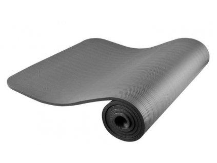Fitness podložka na cvičení 181 x 62 cm - šedá, 7868