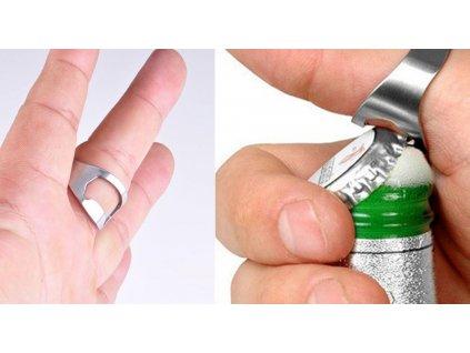 Otvírák lahví na prst 2ks