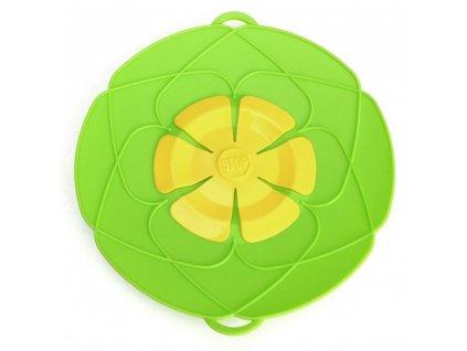 0019608 silikonova nepretekajici poklicka 25 cm zelena