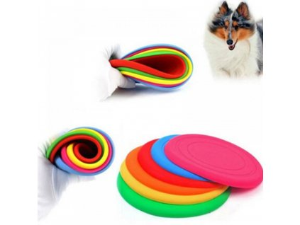 0010798 silikonove frisbee pro psy