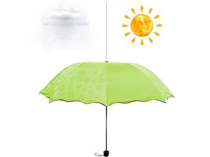 Magický deštník - limetkový