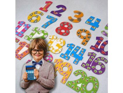 Puzzle pro nejmenší - čísla