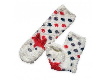 Teplé ponožky - liška