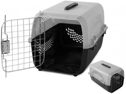 pol pl Transporter dla psa kota krolika klatka solidny 48 2682 1