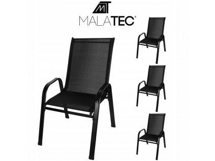 4x Krzeslo Ogrodowe Balkonowe Fotel na Taras Ogrod EAN 5900779938793