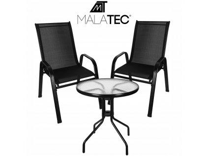 Meble na Balkon Ogrod Taras Komplet Stol 2 Krzesla Producent inny