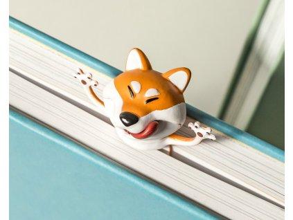 eng pl 3D Bookmark DOG 2853 1