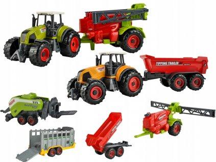 Sada farma s traktorem 2ks + stroje 4ks, 6136