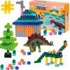 Stavebnice kostky Dinosaurus 290 dílů, KX7487