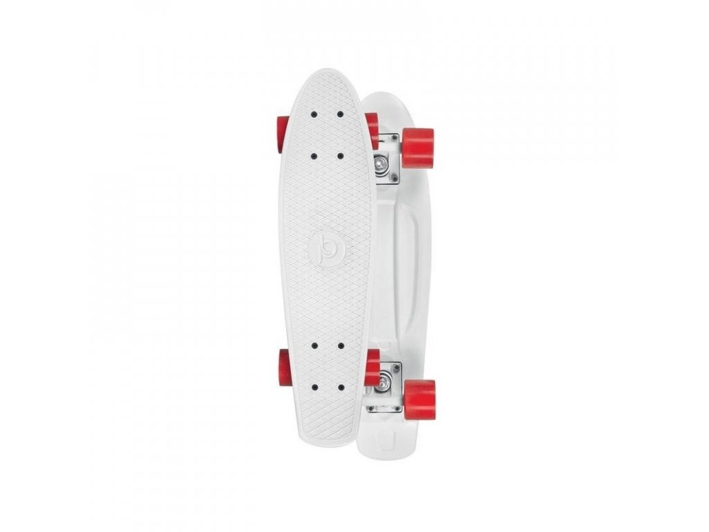 skateboard playlife vinyl board white