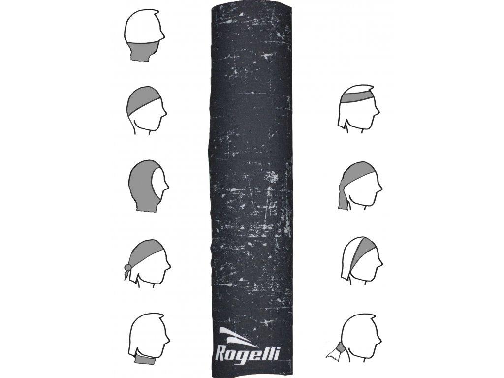 multifunkcni bezesvy satek rogelli scarf cerny default
