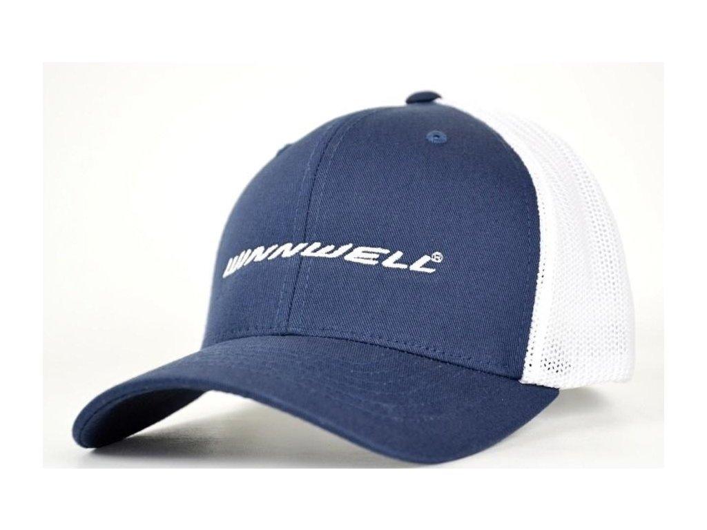 úřední Kšiltovky WINNWELL Winnwell MB 6189 válečné loďstvo tmavě modrá bílá limitovaná edice