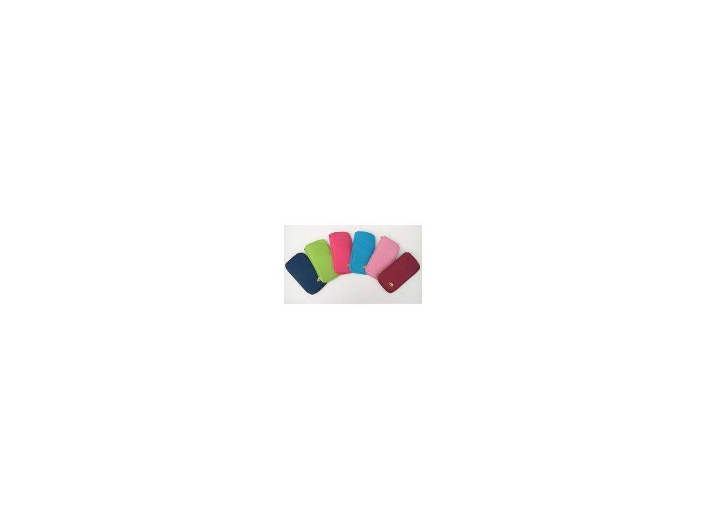 Univerzální cestovní organizér UN 2353 světle růžová (Barevné provedení světle růžová)
