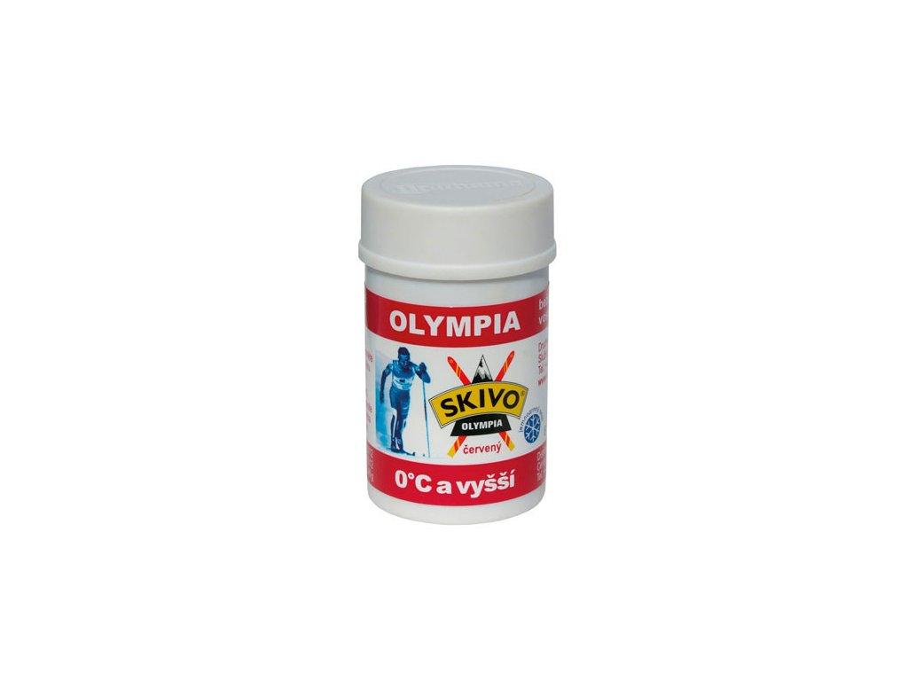 skivo olympia cerveny