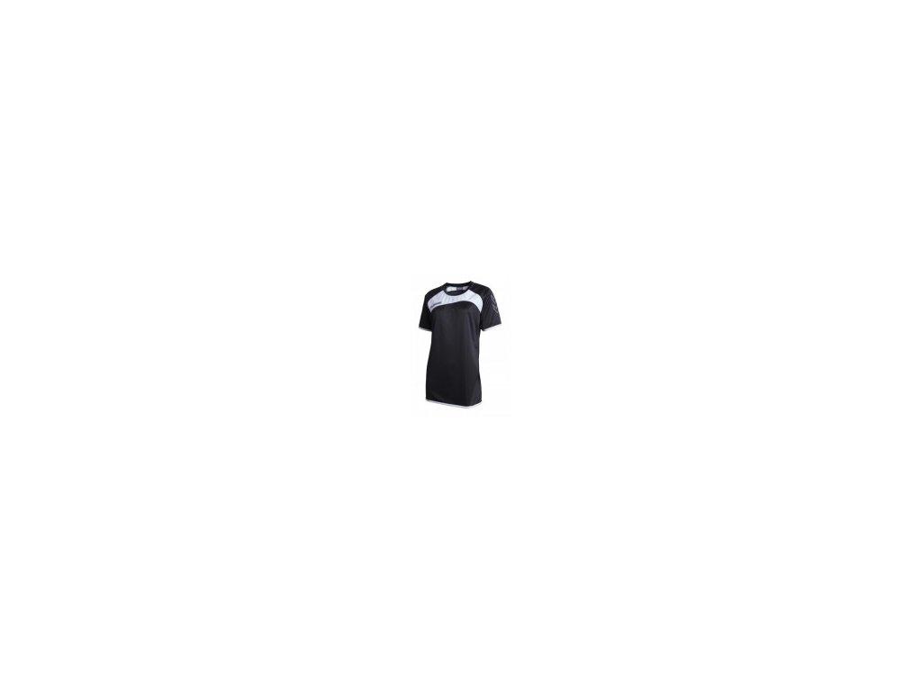 dámský dres s krátkým rukávem Hummel GRASSROOTS (Velikost L, Barevné provedení bílá/černá)