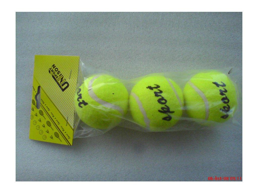 tenisove mice unison un 1205 3 ks v sacku