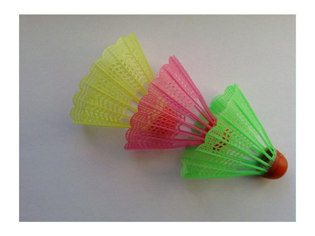 badmintonove micky barevne unison un 1008 3 ks v sacku