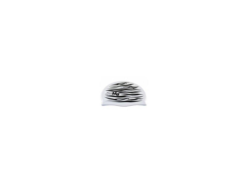 Plavecká čepice Emme Zebra