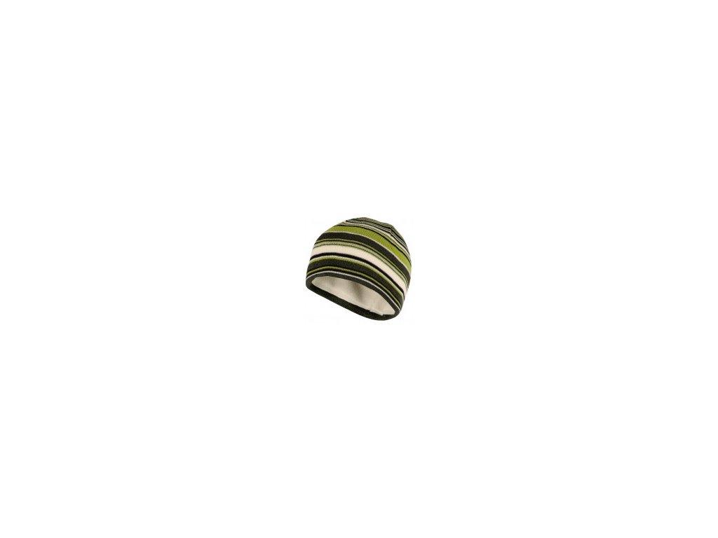 Husky čepice  C11 - zelená