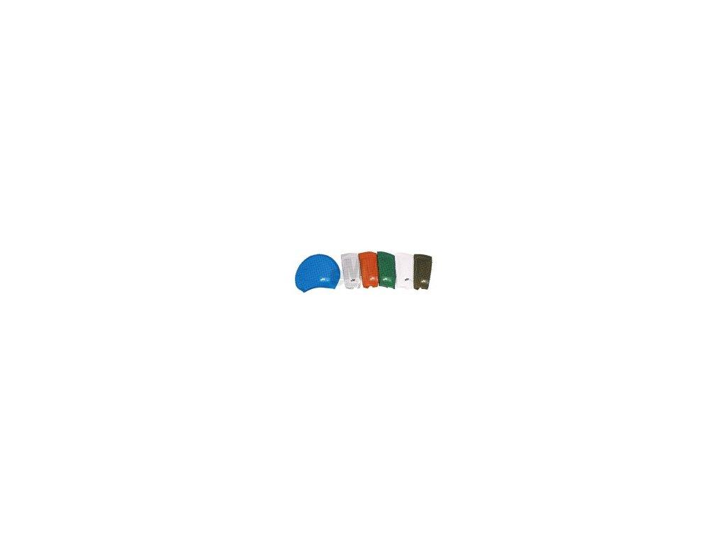 Plavecká čepička Emme Bubble silicone černá (Barevné provedení černá)