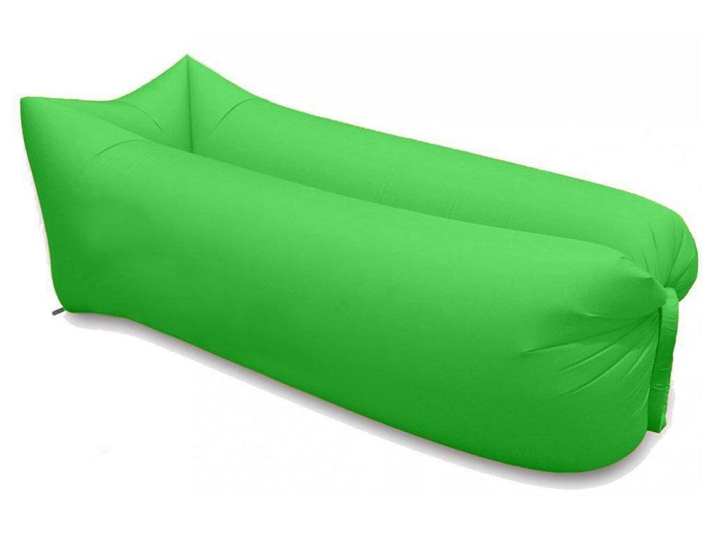 nafukovaci vak sedco sofair pillow lazy zeleny