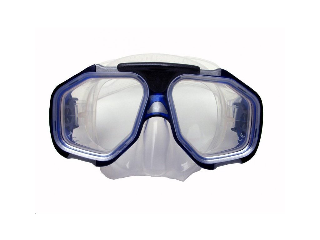 Profi potapěčské brýle Tigullio Devil silikon senior