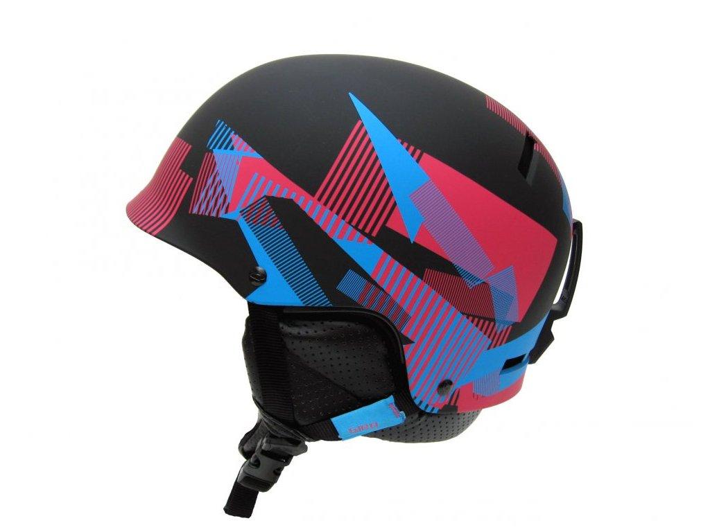 lyzarska helma giro revolver mat black static