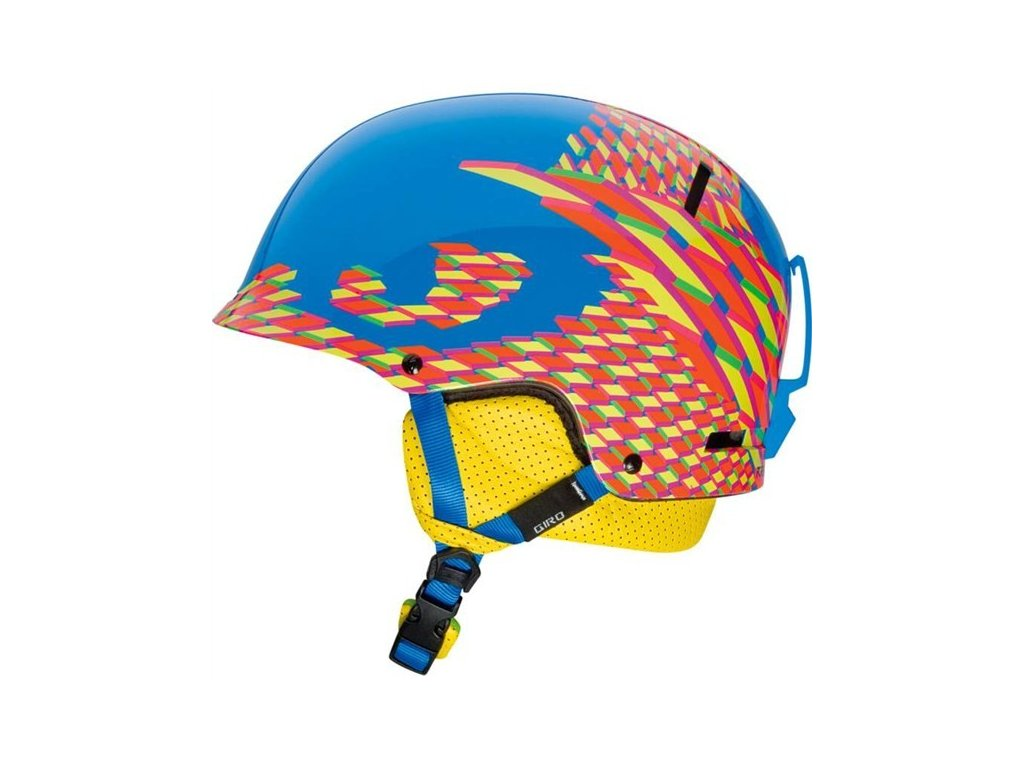 Lyžařská helma Giro Revolver cyan seventhirty - S