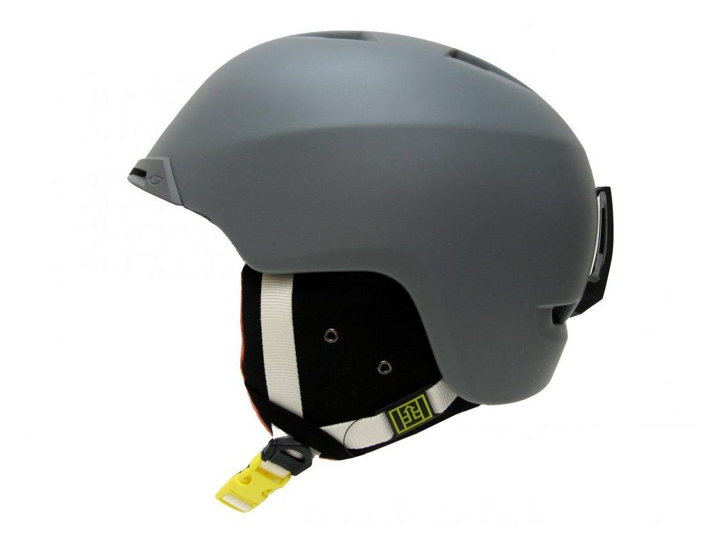 Lyžařská helma Giro Chapter matte grey - S