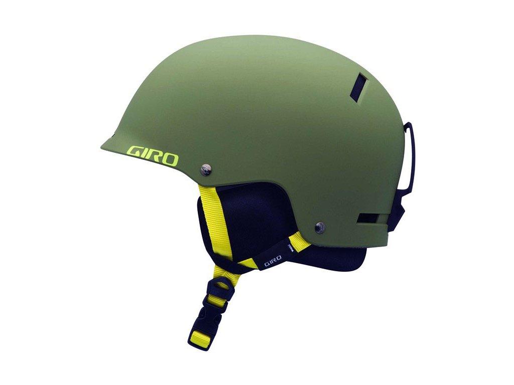 Lyžařská helma Giro Tag matte loden - S