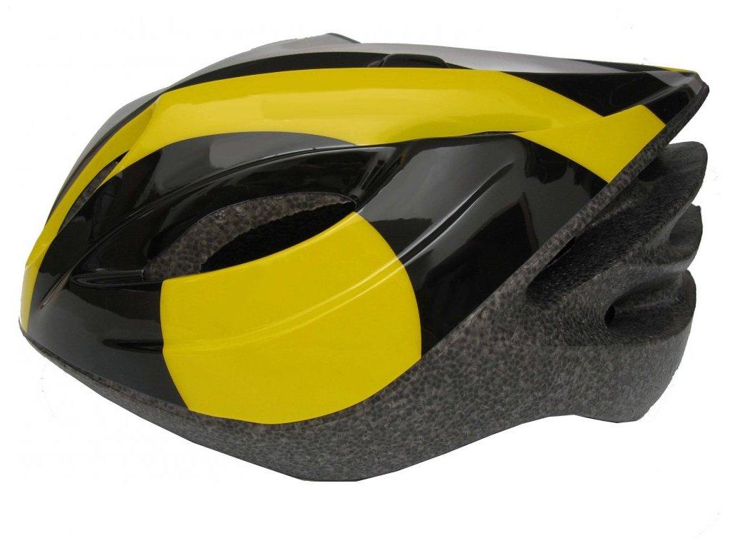 Cyklistická helma Fly žlutá