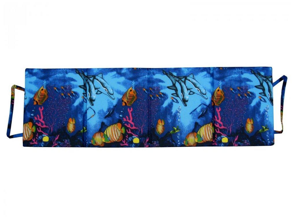 Skládací plážové molitanové lehátko Milano-1 1,5 cm