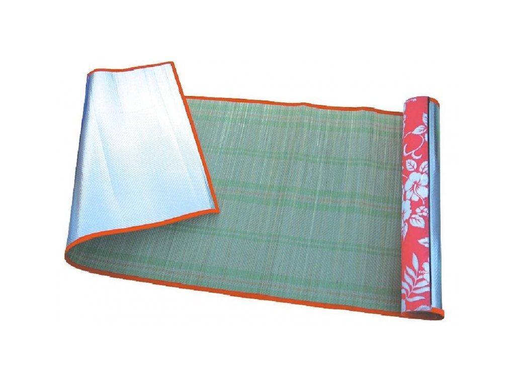 Rákosová plážová rohož ALU Solar 190x70 cm