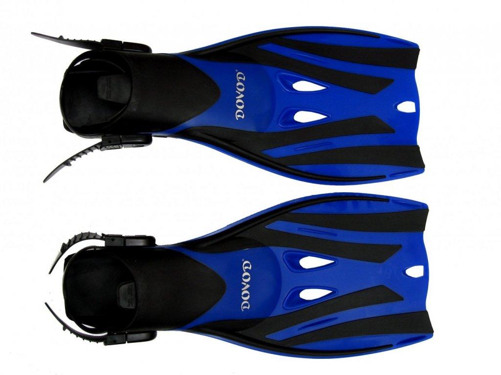 Páskové ploutve Dovod X-Lite Pro senior, vel. 36-41, modré
