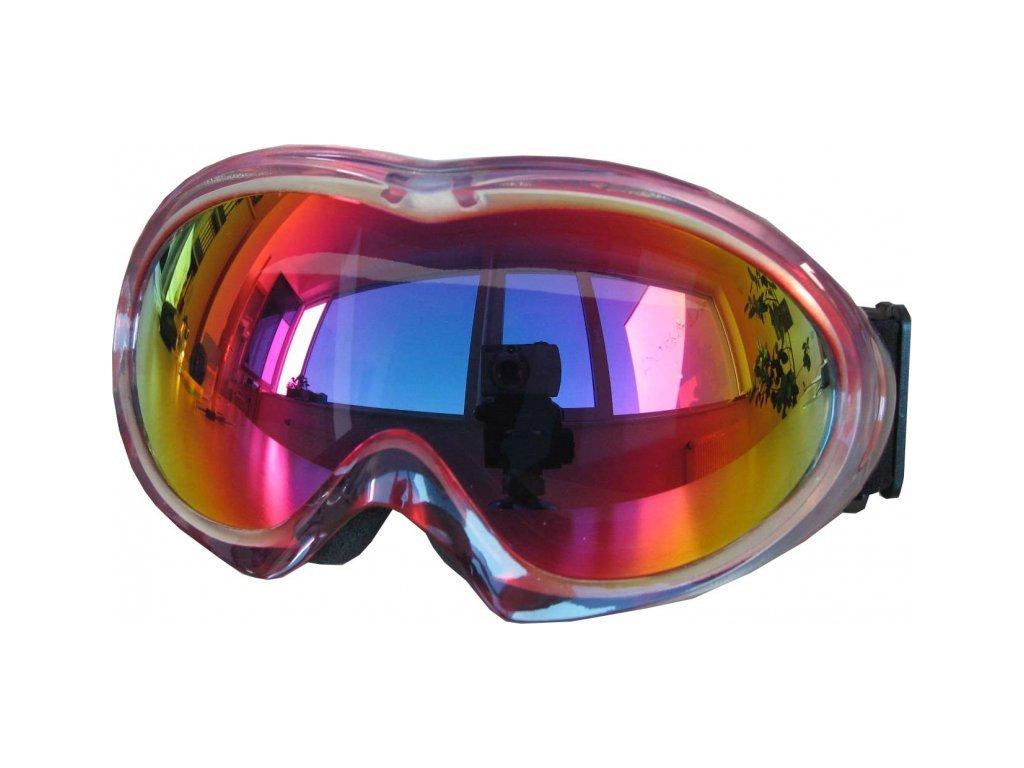 Lyžařské brýle Cortini G1295-1 senior, růžová
