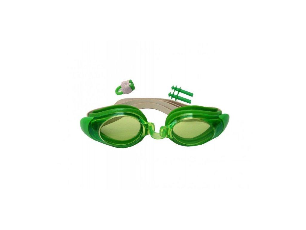 Sada plavecké brýle Wave Junior, ucpávky, klapka