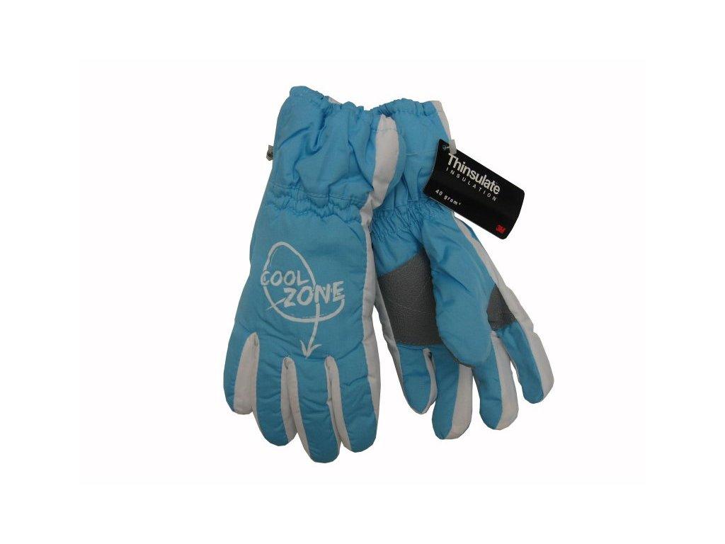 Dětské zimní rukavice Cool Zone, modré