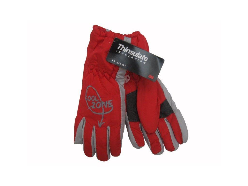 Dětské zimní rukavice Cool Zone, červené